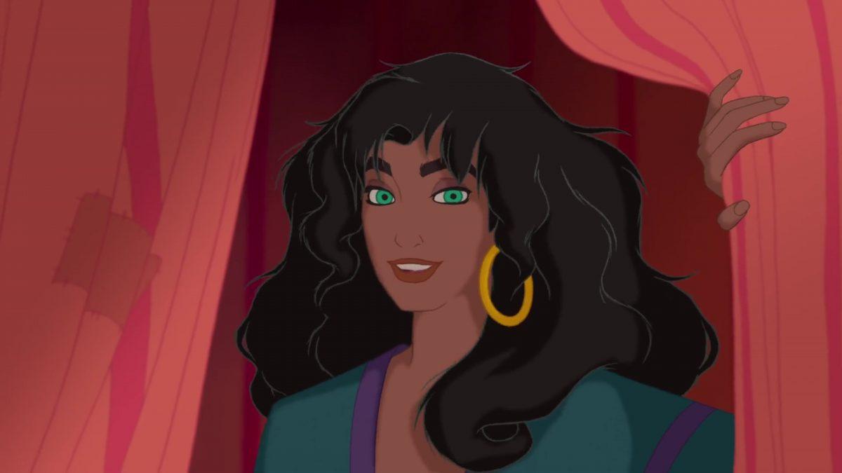 esmeralda personnage bossu notre-dame disney character hunchback