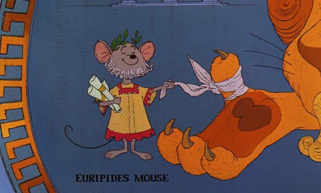 euripide personnage character disney aventures bernard bianca rescuers