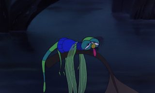 evinrude personnage character disney aventures bernard bianca rescuers