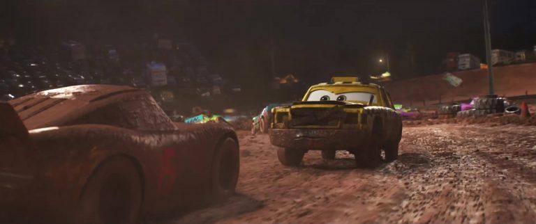 """Faregame, personnage dans """"Cars 3""""."""