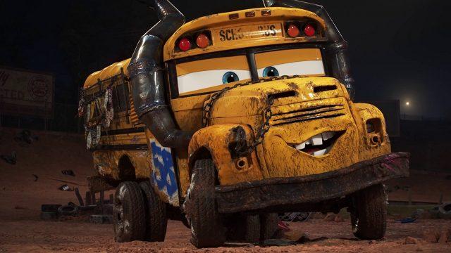 image école pilotage miss fritter racing school disney pixar