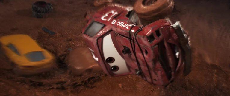"Jimbo, personnage dans ""Cars 3""."