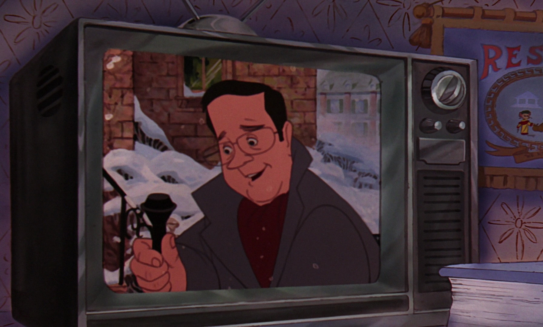 journaliste personnage character disney aventures bernard bianca rescuers