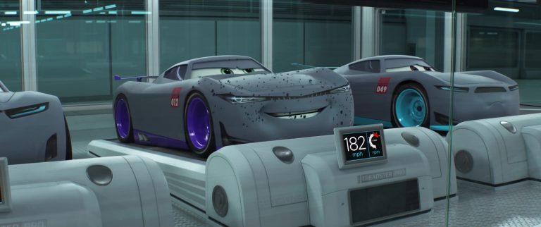 """Kurt, personnage dans """"Cars 3""""."""