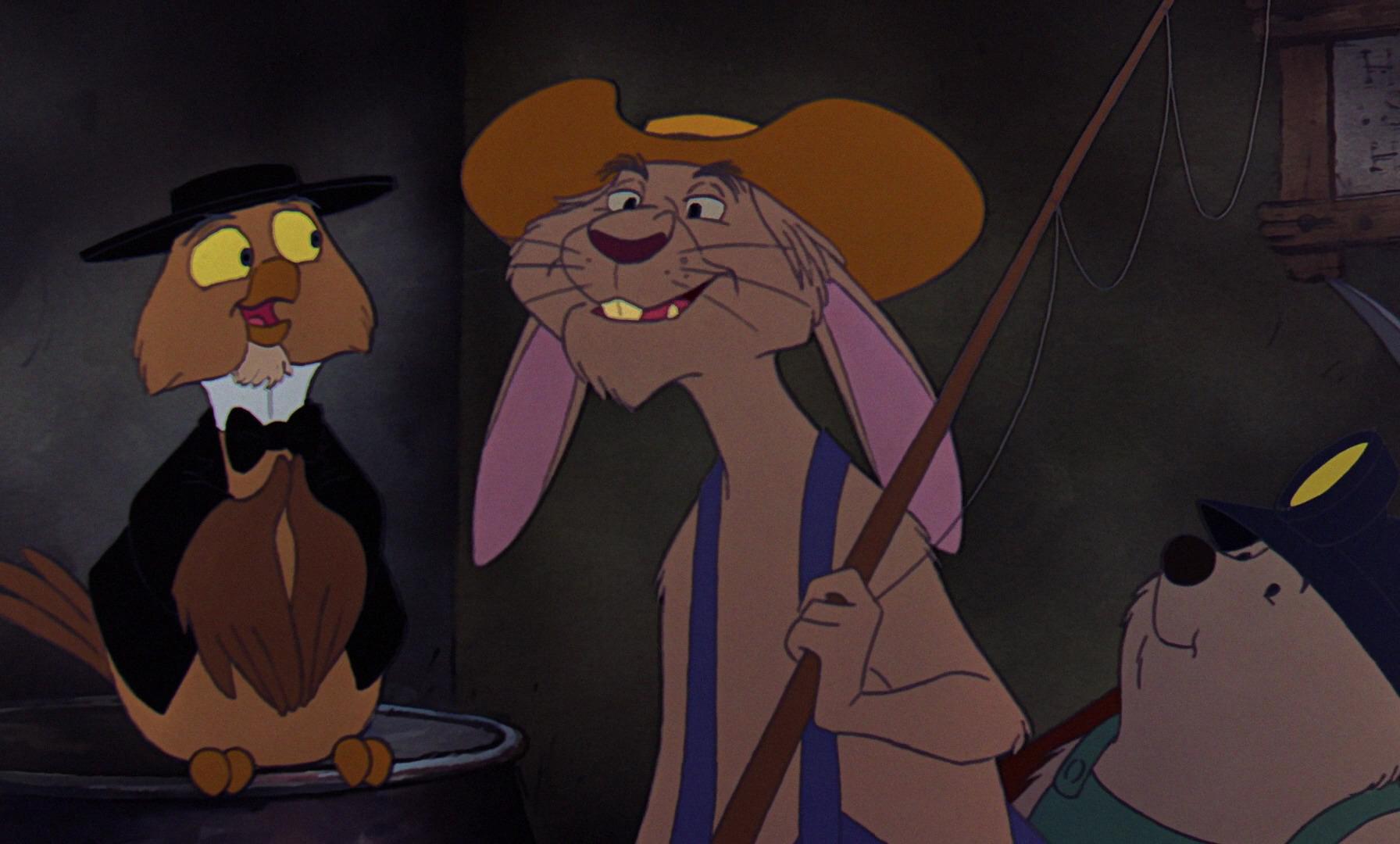 lapin rabbit personnage character disney aventures bernard bianca rescuers