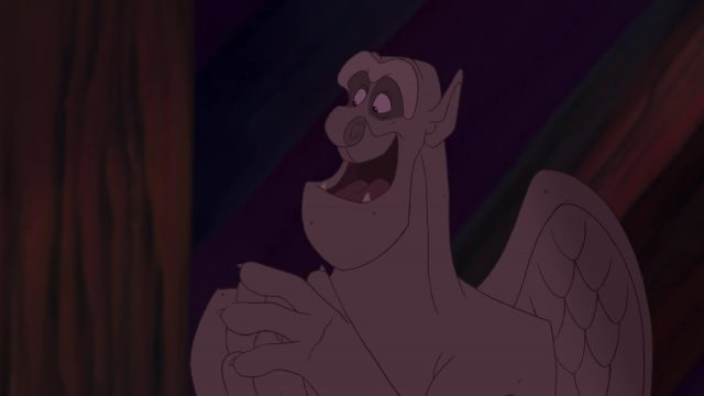 muraille rocaille voliere victor hugo laverne personnage bossu notre-dame disney character hunchback