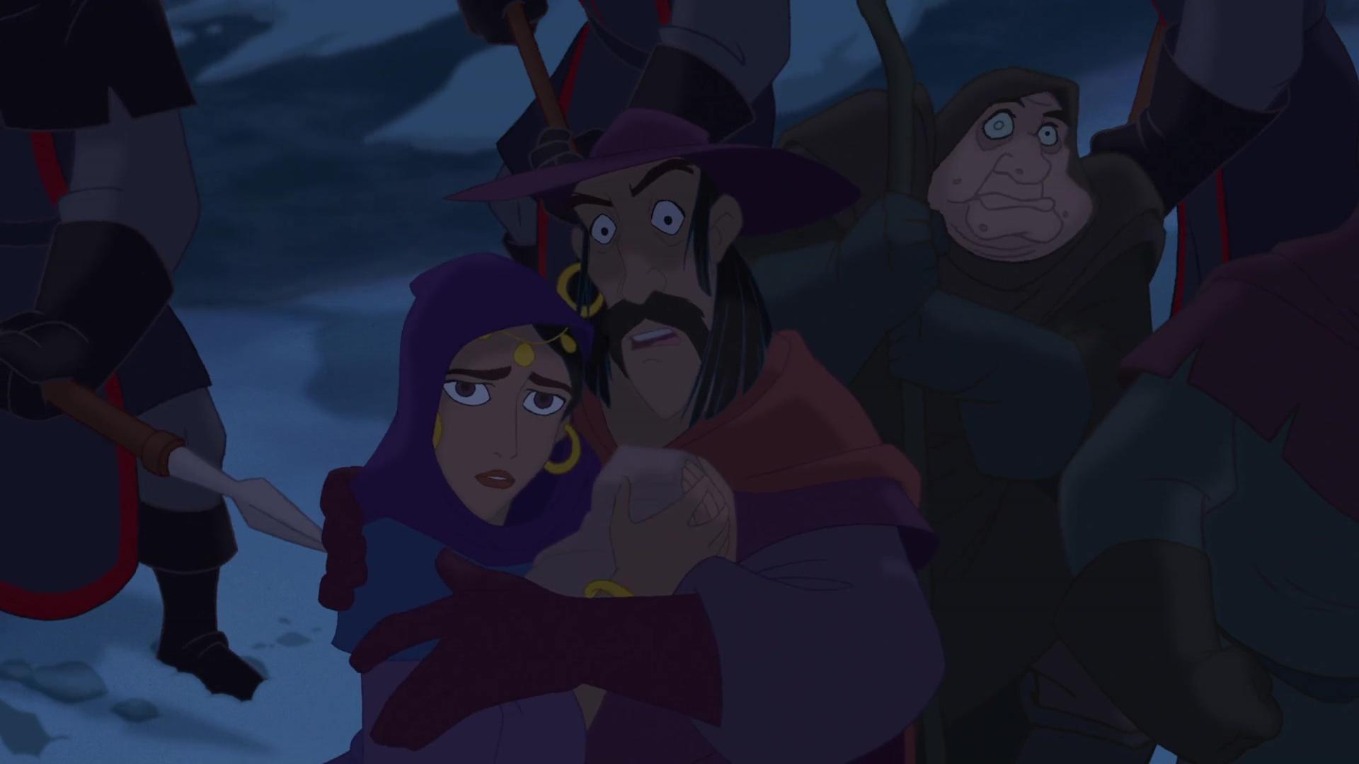 parents quasimodo personnage bossu notre-dame disney character hunchback