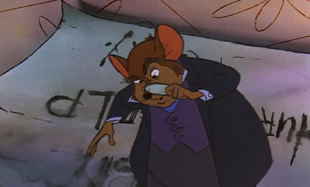 president chairmouse personnage character disney aventures bernard bianca rescuers