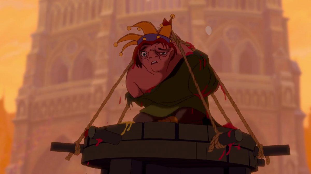 quasimodo  personnage bossu notre-dame disney character hunchback