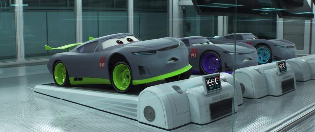 ronald  personnage character cars disney pixar
