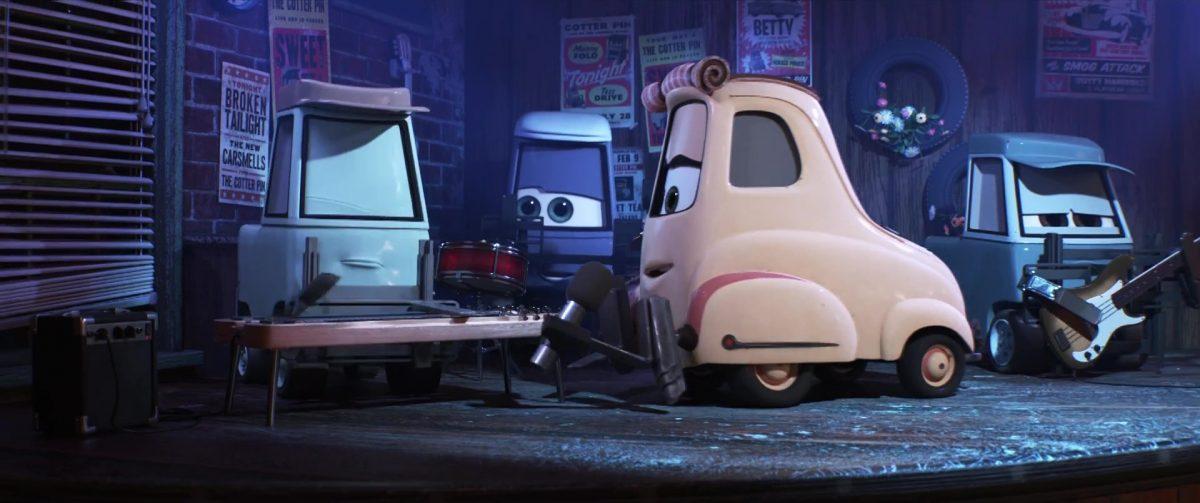 sweet tea personnage character cars disney pixar
