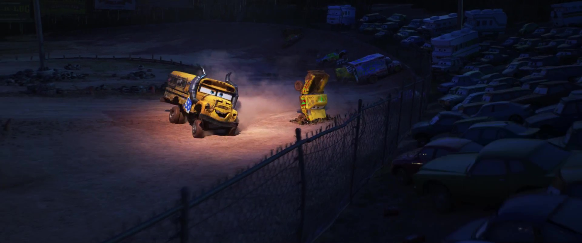 Taco Personnage Dans Cars 3 Pixar Planet Fr