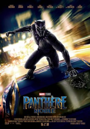 affiche poster black panther disney marvel