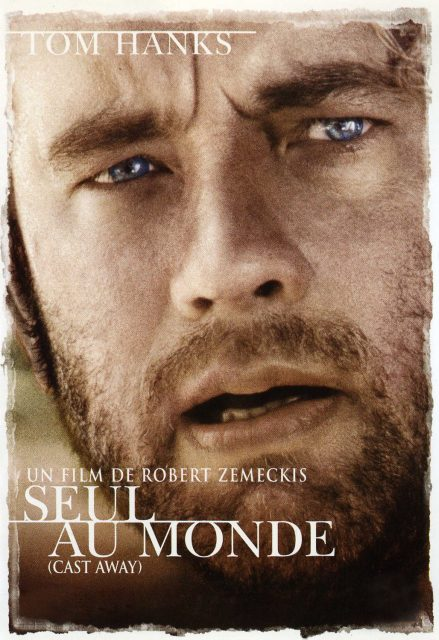 Affiche Poster seul monde cast away disney 20th century fox