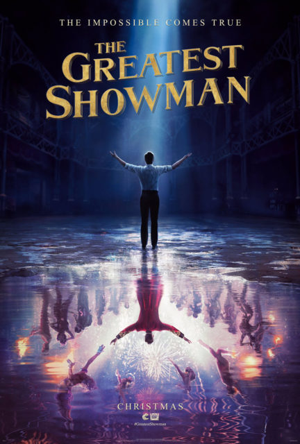 Affiche Poster The Greatest Showman Disney 20th Century Fox