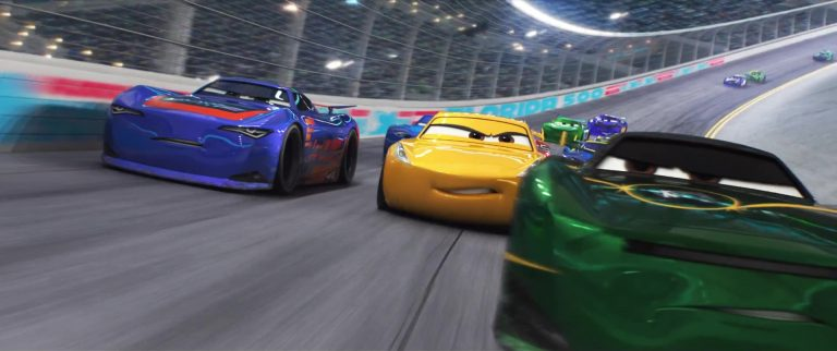 "Barry DePedal, personnage dans ""Cars 3""."