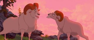beliers cliff roc rams  personnage character frère ours brother bear disney