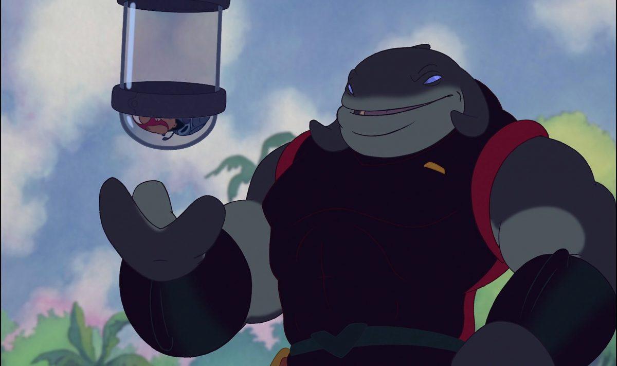 capitaine gantu personnage lilo stitch disney character