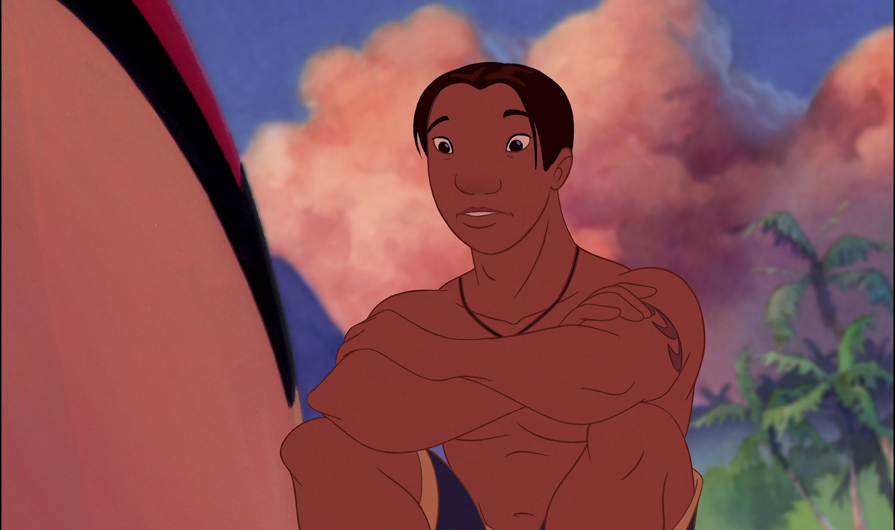 David Kawena, Personnage Dans Lilo  Stitch  Disney-Planet-6537