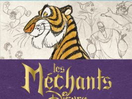 livre mechants disney vilains
