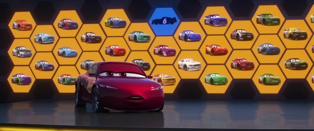 parker brakeston personnage character cars disney pixar