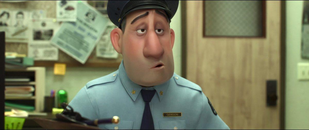 sergent gerson  personnage character nouveaux heros disney big 6