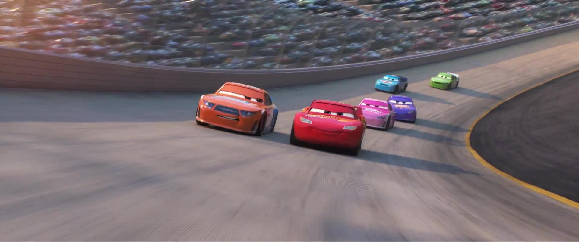 speedy comet personnage character disney pixar cars 3