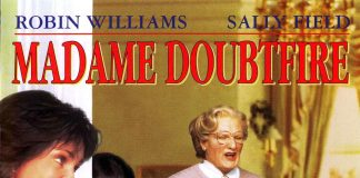 Affiche Poster Madame Mrs Doubtfire Disney 20th century fox