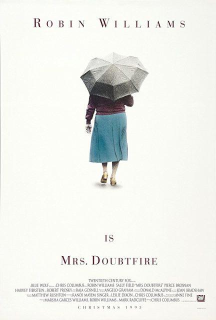Affiche Poster Madame Mrs Doubtfire Disney 20th century fox