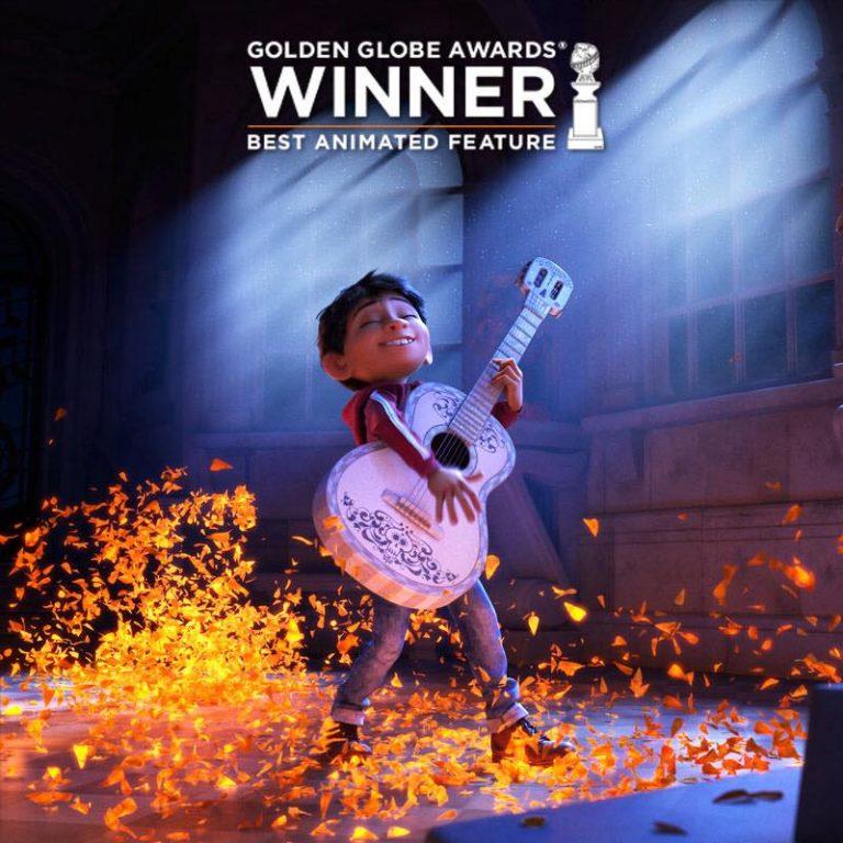 """Coco"" : gagnant aux Golden Globes !"