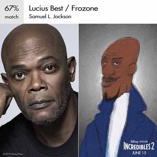 lucius best frozone personnage indestructible character incredibles 2 disney pixar