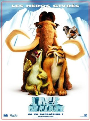 Affiche Poster Age Glace Ice Disney Fox Blue Sky