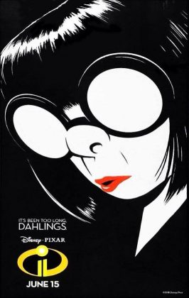 affiche poster incredibles indestructibles 2 disney pixar