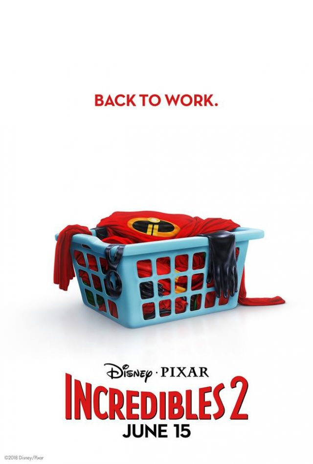 affiche poster incredibles indestructibles 2 disney pixar