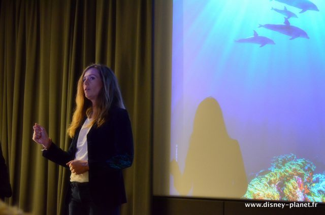 Masterclass Blue Disney Nature Cecile De France