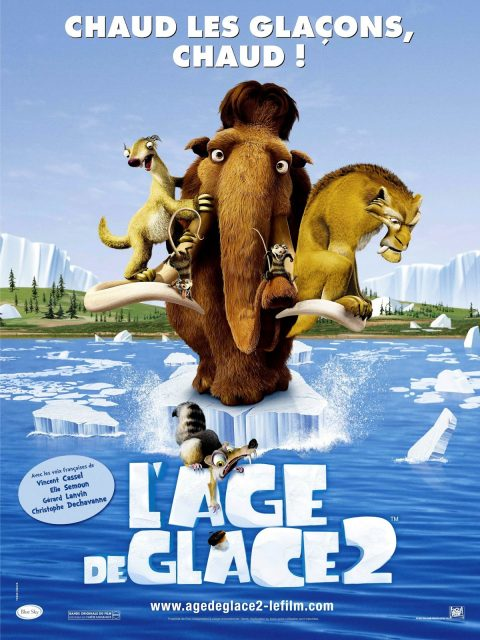 Affiche Poster age glace 2 ice meltdown disney fox blue sky