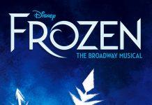 Affiche Poster Frozen musical reine neige broadway disney