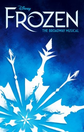 Affiche Poster Frozen musical reine neige broadway disney