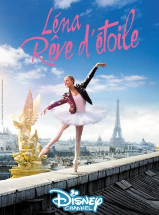 affiche poster lena reve étoile find me paris disney channel
