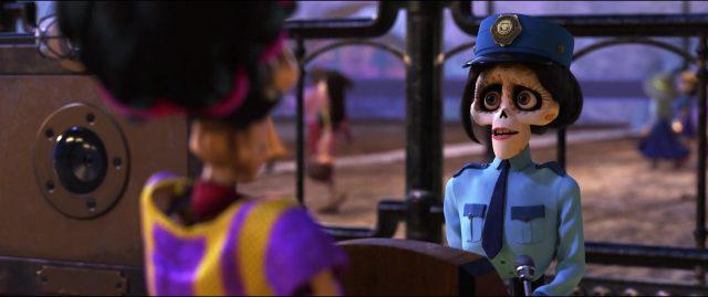 agent départ personnage character coco disney pixar