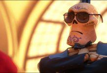 agent securité security gard personnage character coco disney pixar