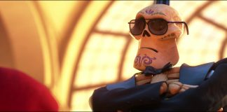 agent securité security gard personnage character coco disney pixar