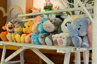 Disney Store peluche big feet