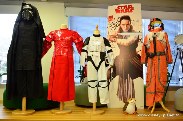 Disney Store déguisements Star Wars