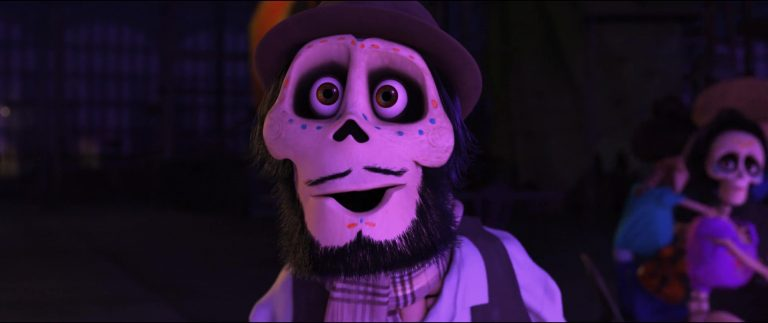 """Gustavo, personnage dans """"Coco""""."""