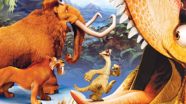 Image age glace 3 temps dinosaurs ice dawn disney fox blue sky