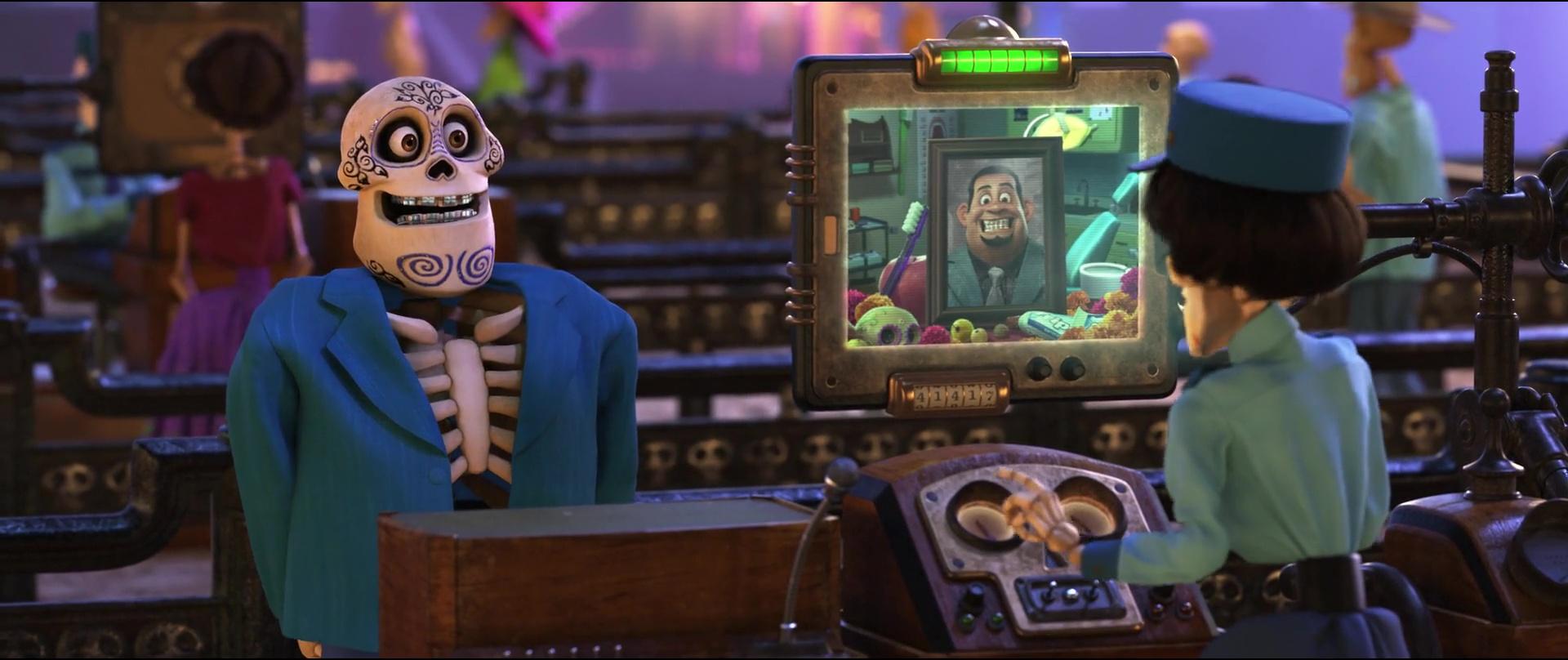juan ortodoncia personnage character coco disney pixar