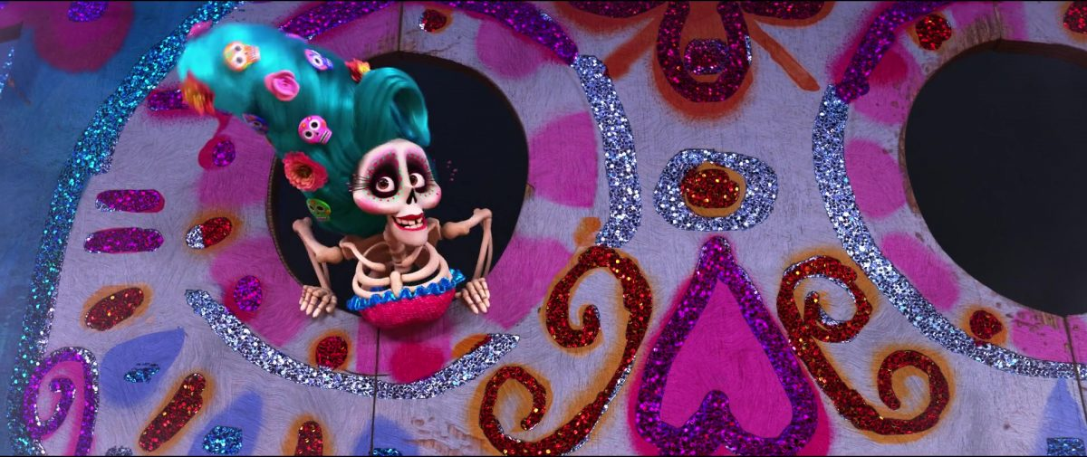 maitresse ceremonie emcee personnage character coco disney pixar