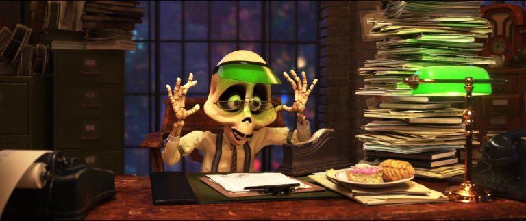 """Le notaire, personnage dans """"Coco""""."""