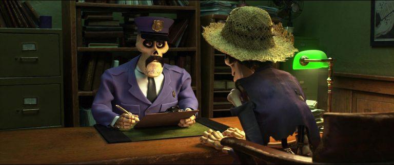 """L'officier, personnage dans """"Coco""""."""